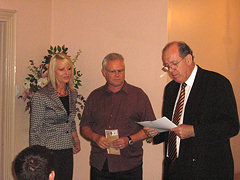 1.11.2007 - Presentation of Certificate to Crossroad Connexions Inc from the National Community Crime Prevention Programme.